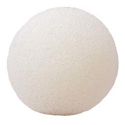 Купить Konjac Sponge Face flat white